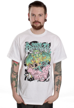 A Day To Remember - Dragon Vs. Elephant White - T-Shirt