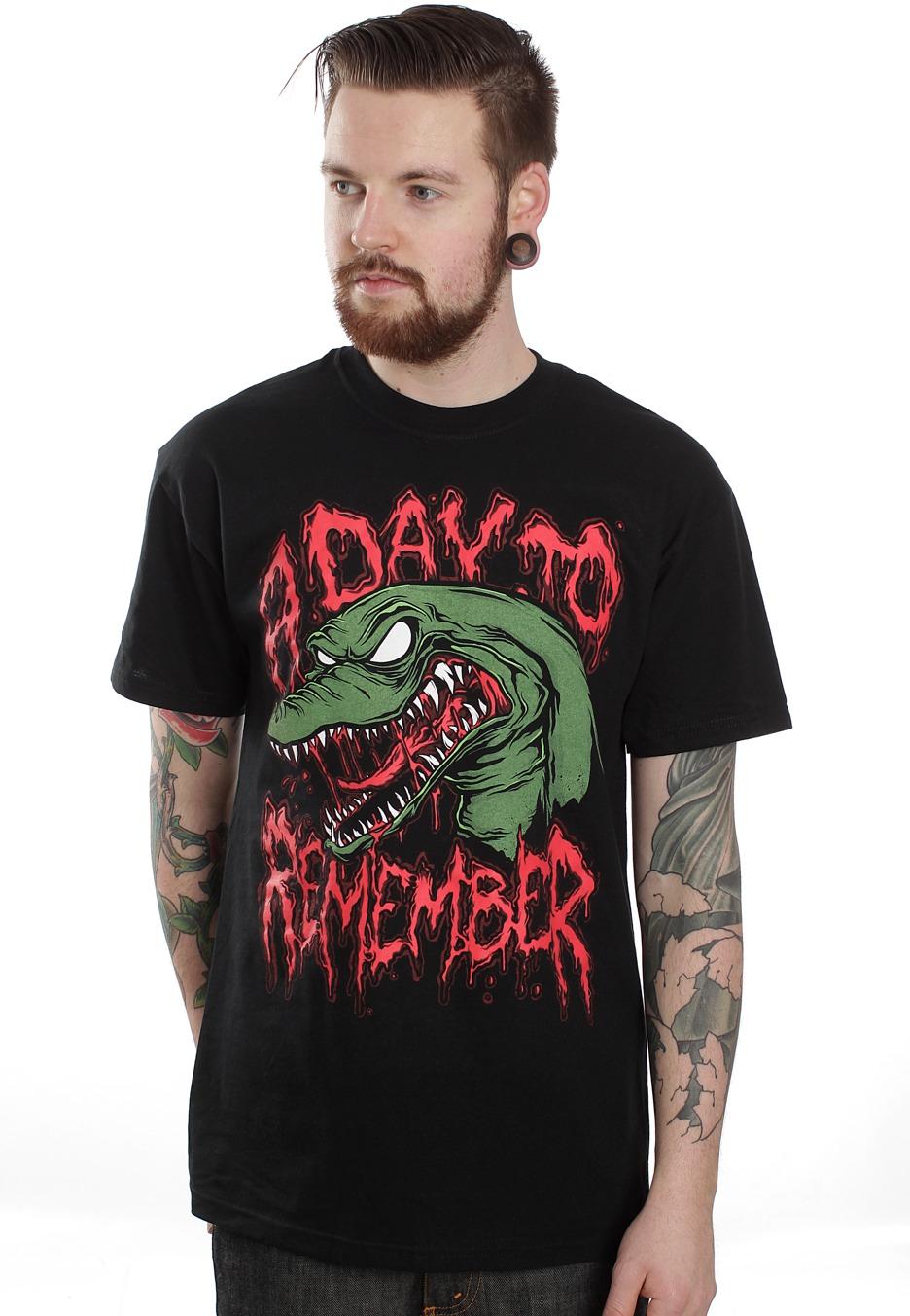 a day to remember gator vicious t shirt official pop punk merchandise shop uk. Black Bedroom Furniture Sets. Home Design Ideas