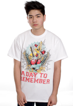 A Day To Remember - Have Faith In Me White - T-Shirt