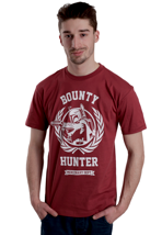 Addict - Boba Fett Hunter Crest Oxblood - T-Shirt