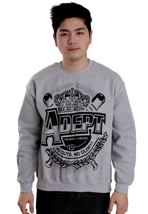 Adept - Crown Sportsgrey - Sweater