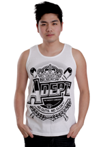 Adept - Crown White - Tank