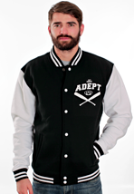 Adept - Never Grow Up Black/White - College Jacket