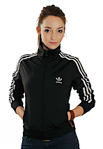 Adidas - Firebird Black/White - Girl Track Jacket