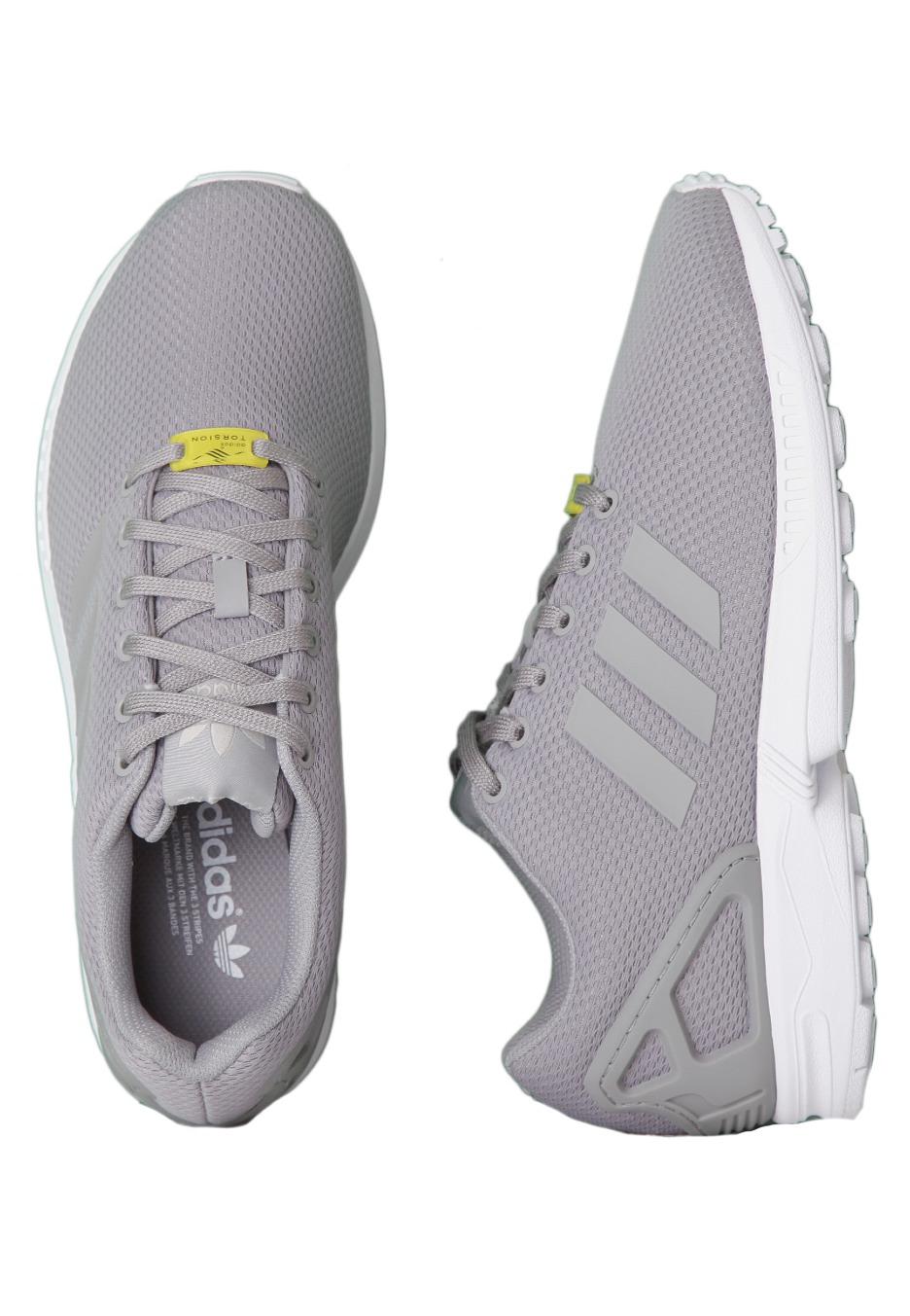 adidas zx flux heren grijs