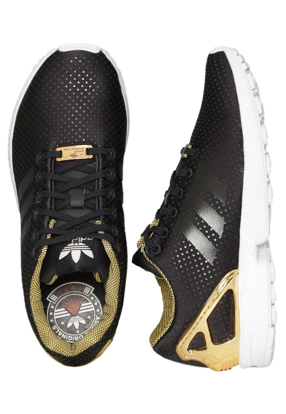 Adidas Zx Flux Damen Blau Gold ifgs