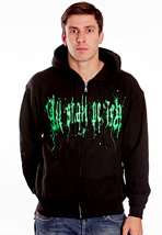 All Shall Perish - Green Logo - Zipper