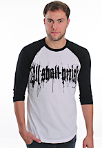 All Shall Perish - Oakland White/Black - Longsleeve