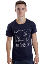 All Time Low - Ghosts Blue - T-Shirt