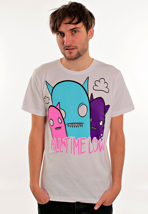All Time Low - Triple Ghosts White - T-Shirt