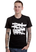 Altamont - No Logo Black/White - T-Shirt