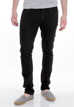 Altamont - Reynolds Pico Overdye Denim Worn Black - Jeans