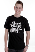 Altamont - Stacked Black/White - T-Shirt