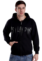As I Lay Dying - Skull Wings - Zipper
