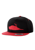 Atticus - Bird Black/Red Snapback - Cap
