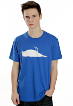 Atticus - Bird Royal Blue - T-Shirt