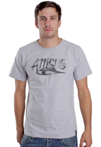 Atticus - Pencil Heather Grey - T-Shirt
