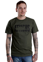 Atticus - Punch Army Green - T-Shirt