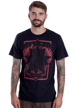 Atticus - Red Dawn Navy - T-Shirt