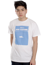Atticus - Stack White - T-Shirt