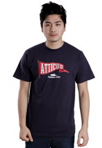 Atticus - Wave Navy - T-Shirt