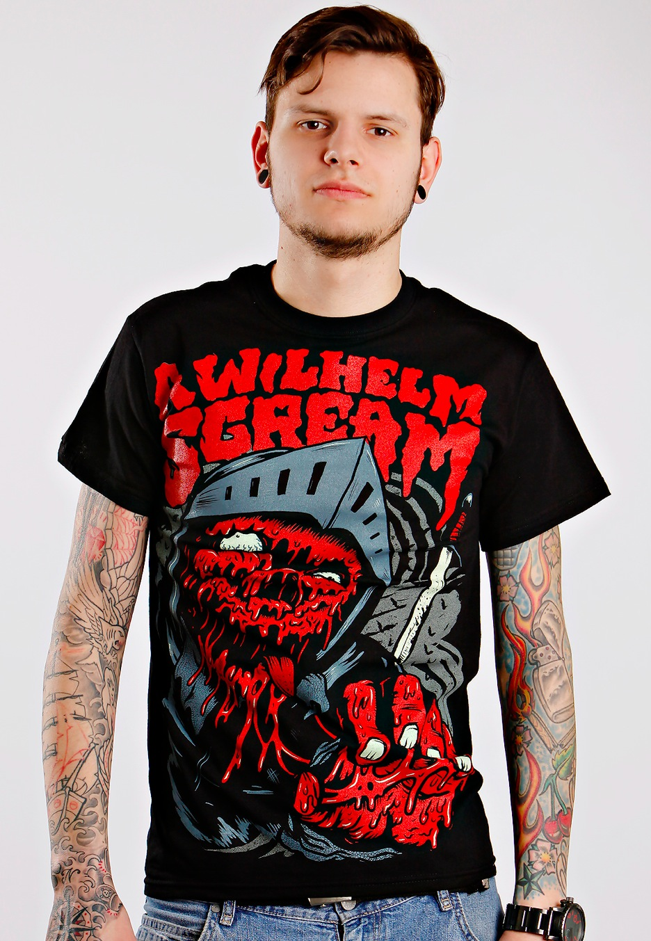 A Wilhelm Scream - Knight - T-Shirt - Official Merchandise Shop - Impericon.com Worldwide