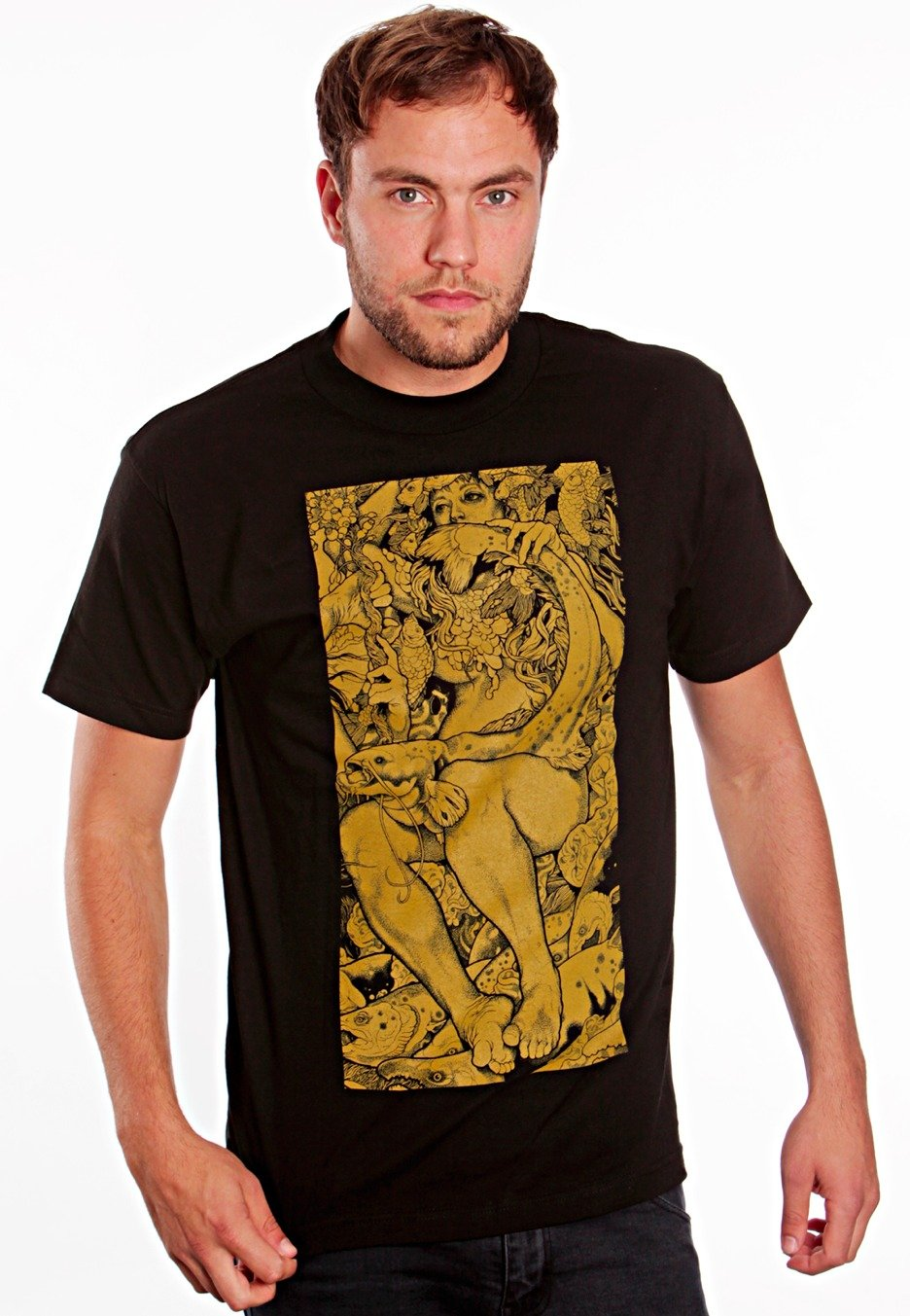 Baroness - Blue Record Gold - T-Shirt - Impericon.com ...