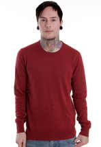 Ben Sherman - ME00003 Goodge Champion Red Marl - Sweater