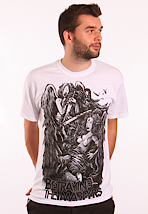 Betraying The Martyrs - Angel Vs. Goat White - T-Shirt