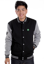 Beyond - Varsity II Black/Grey - College Jacket