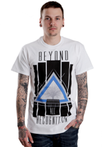 Beyond All Recognition - Triangle White - T-Shirt