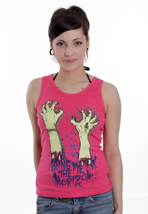 Bring Me The Horizon - Severed Hands Pink - Girl Tank