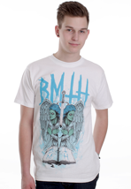 Bring Me The Horizon - Angel Duel White - T-Shirt