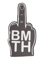 Bring Me The Horizon - Middle Finger Grey - Foam Hand