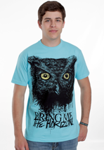 Bring Me The Horizon - Owls Turquoise - T-Shirt