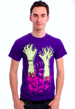 Bring Me The Horizon - Severed Hands Purple - T-Shirt