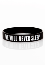 Bring Me The Horizon - We Will Never Sleep - Bracelet