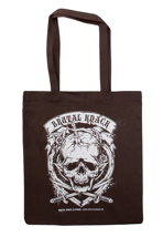 Brutal Knack - Cranium Brown - Tote Bag