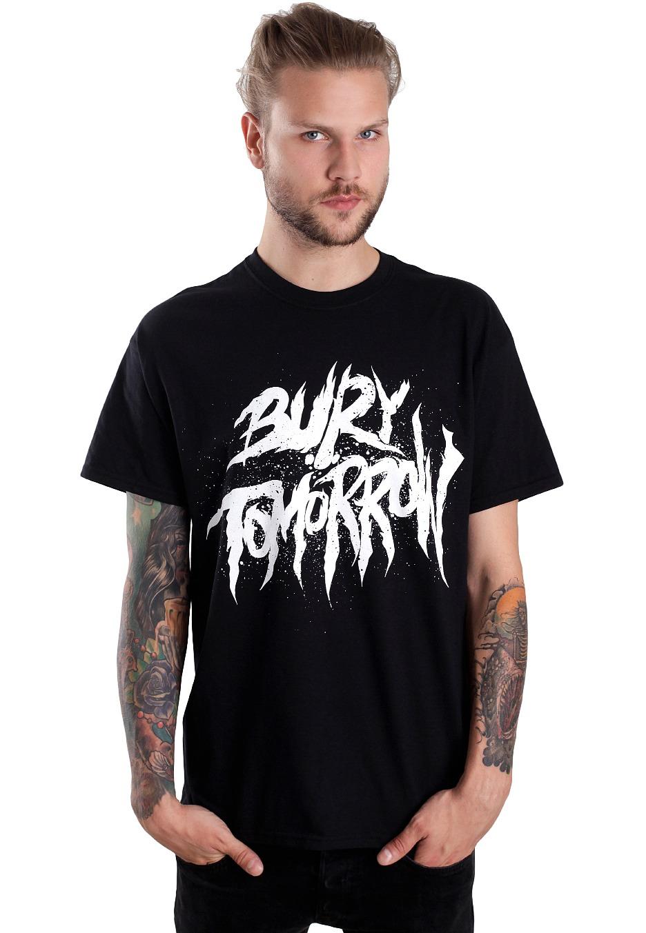 bury tomorrow distressed logo t shirt uk. Black Bedroom Furniture Sets. Home Design Ideas