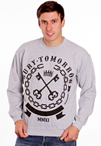 Bury Tomorrow - Keys Sportsgrey - Sweater