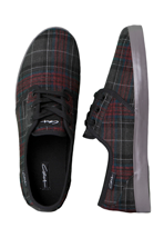 C1RCA - Crip Black Tonal Plaid/Excalibur - Shoes
