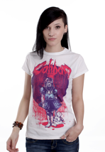 Caliban - Deadly Dream White - Girly