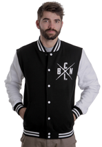 Caliban - Logo Black/White - College Jacket