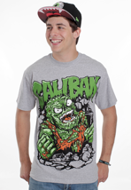 Caliban - Slime Monster Sportsgrey - T-Shirt