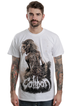 Caliban - Zombie Spine White - T-Shirt
