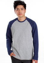 Carhartt - Dodgers Grey Heather/Blue - Longsleeve