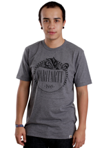 Carhartt - Badger Dark Grey Heather/Black - T-Shirt