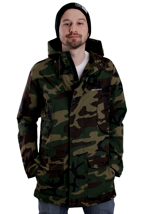 Carhartt - Battle Camo Green Rigid Parka - Jacket