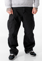 Carhartt - Cargo Columbia Black Stone Washed - Pants