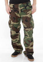 Carhartt - Cargo Columbia Camo Green Stone Washed - Pants